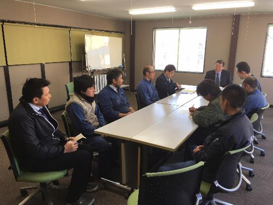 JCQA橋本管理部長様より移行審査の説明